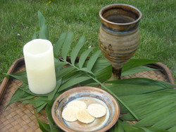 Palm Sunday Communion