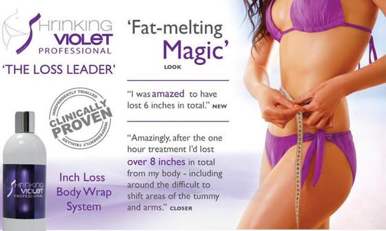 Shrinking Violet Body Wrap