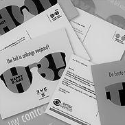 Wie zorgt voor de personalisatie van uw postkaart? Contrapunt!