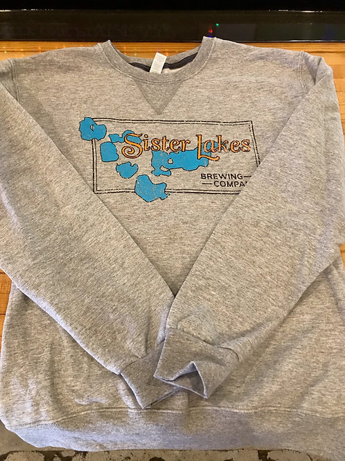 Unisex Crewneck Sweatshirt - Grey