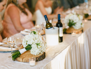 How to Effortlessly Re-purpose Your Bouquets for Your Reception
