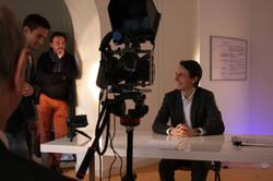 Confessions financières - tournage