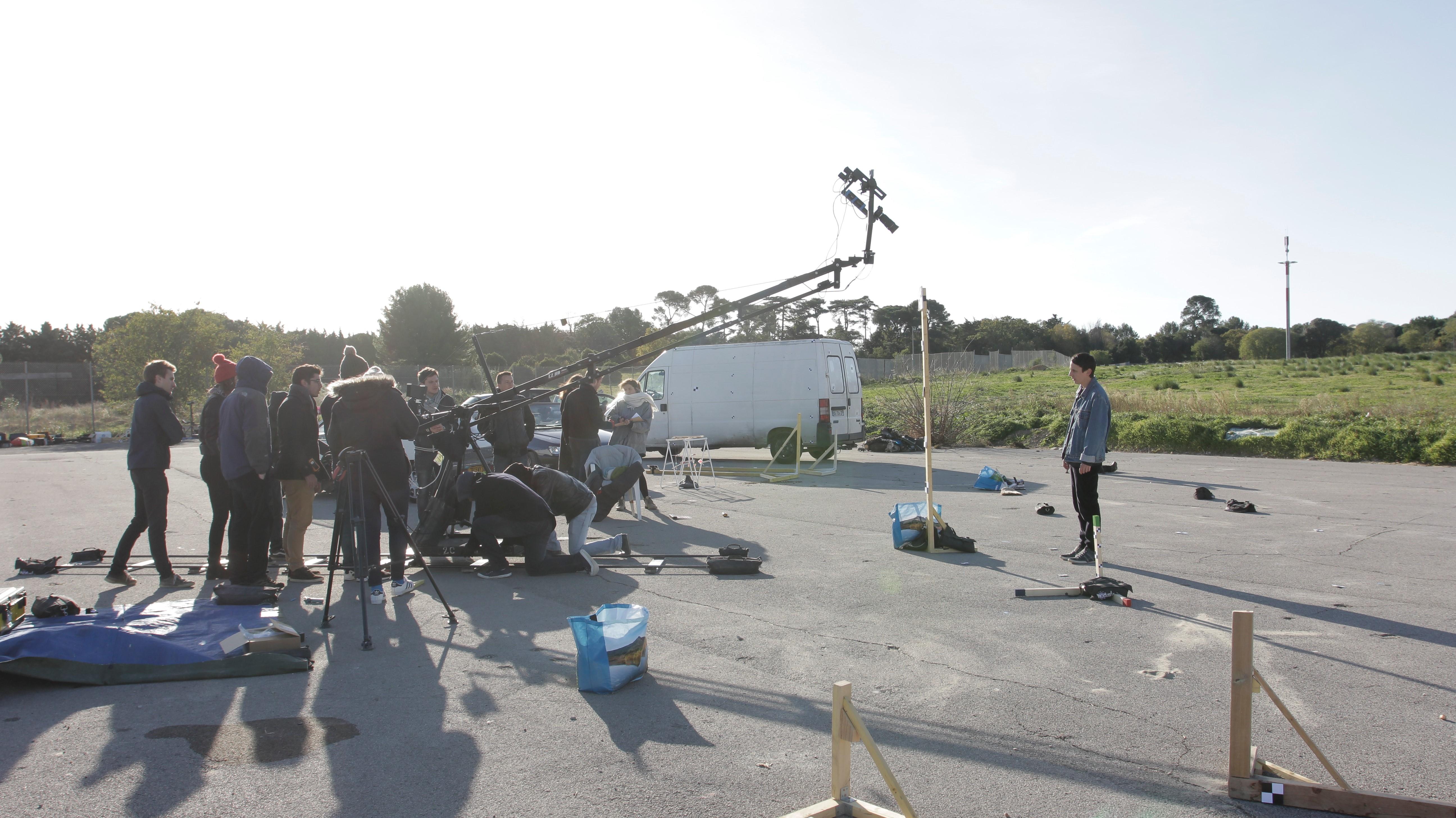Blink - tournage