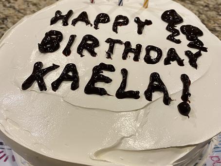 2020 Top 5 Meals: #4 Cake