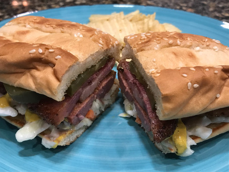 Cooking Challenge Week 5: Pastrami Dog