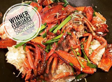 February's Winning Dish: Fiery Lobster