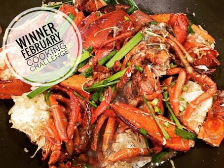 February's Winning Dish: Fiery Lobster