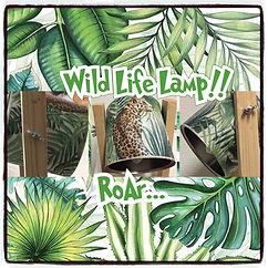 Wild Life Lamp pimpen! (Nieuw)