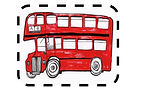 The Big Red Bus Club Logo
