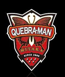 QUEBRA-MAN original logo emblem