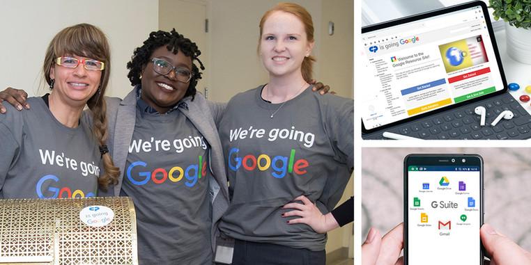 going Google at Colgate