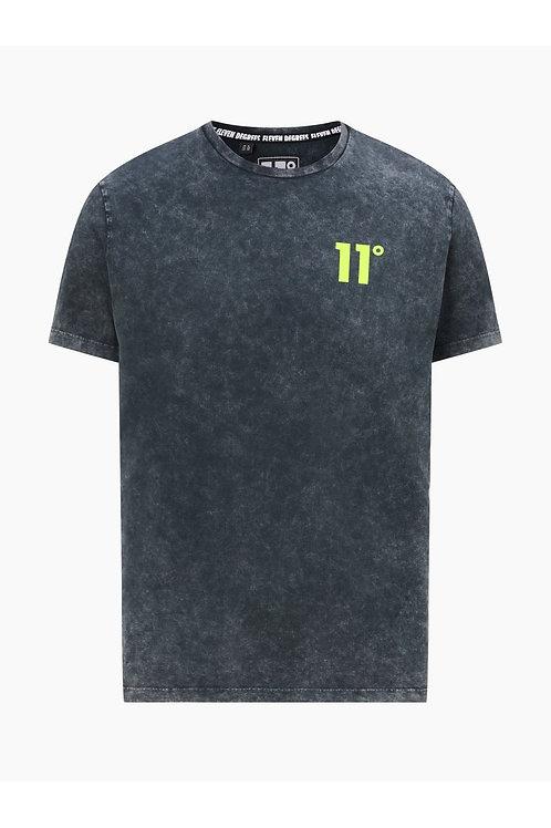 Acid Wash T-Shirt - Black