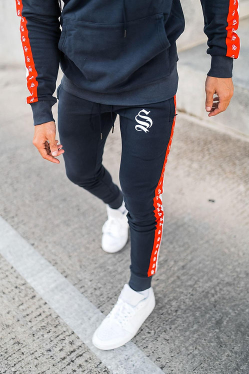DOUBLE TAPE JOGGERS - NAVY