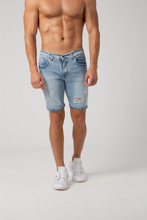 SHORTS JEANS RIPPED