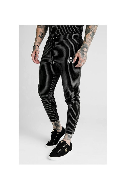 SikSilk  x Dani Alves Fitted Smart Pants – Black & White