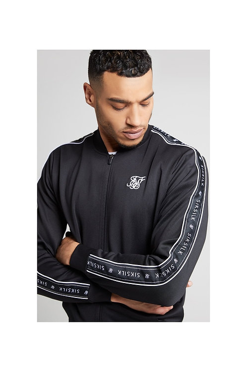 SikSilk  Panel Tape Bomber – Black