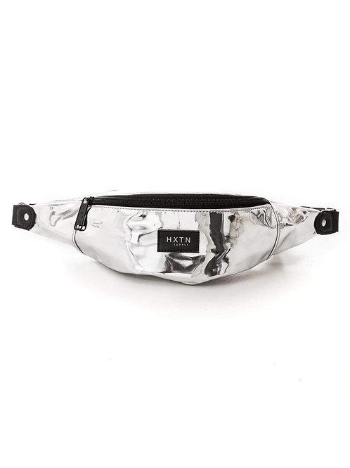 Mirror Silver UTILITY Transporter Crossbody Bum Bag