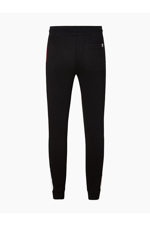 Carbon Panel Joggers Skinny Fit - Black / Brick Red / White