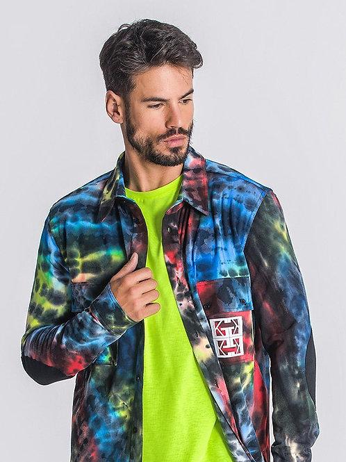 Multicolor Underground Tie Dye Shirt
