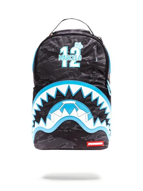 Mochila Sprayground Marcelo Azul Rubber Shark