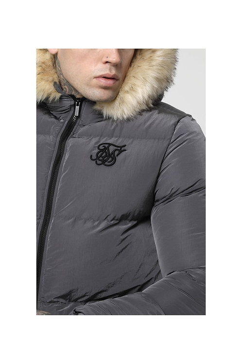 SikSilk   Distance Jacket – Grey