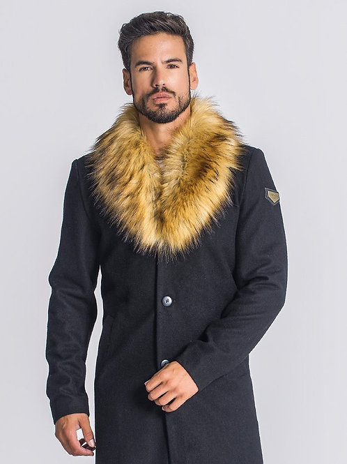Black Firenze Coat