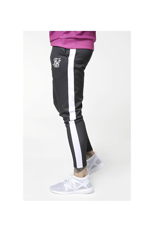 SikSilk  Vapour Track Pants - Grey & White