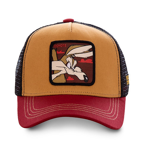 GORRA CAPSLAB LOONEY COY 2, OCRE & RED