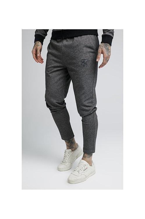 SikSilk  Tech Tweed Ultra Cropped Taped Pants – Grey