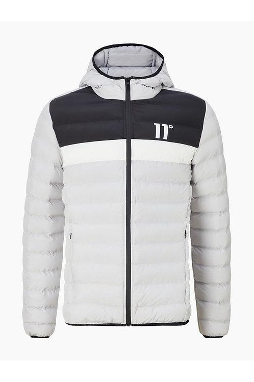 Colour Block Space Jacket - Vapour Grey/Black/White