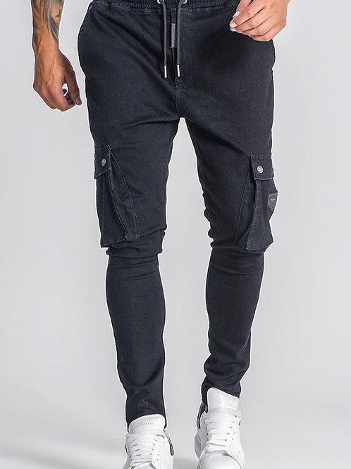 Black Core Drop Jeans