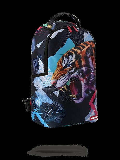 Checkered Shark Backpack inTIGRE