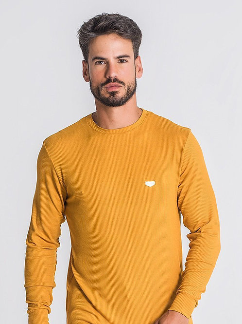 Gold Core Long Sleeve Ribbed Tee