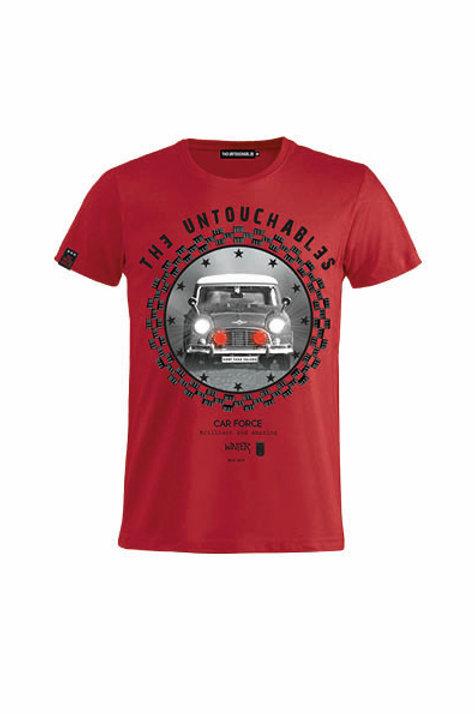 CAMISETA THE UNTOUCHABLES RACE, RED