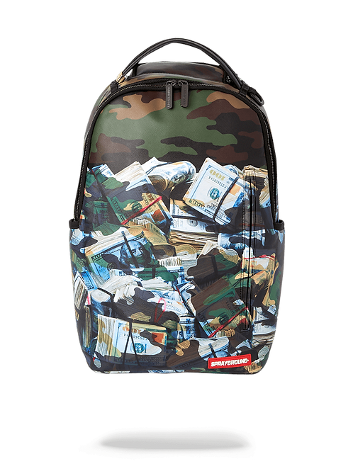 Checkered Shark Backpack in CAMUFLAJE TOUGH
