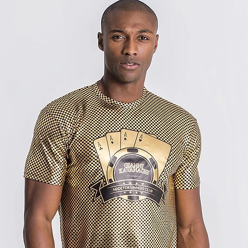 Gold Lucky Fever Tee