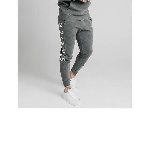 FITTED SIGNATURE TRACKNPANTS GREY
