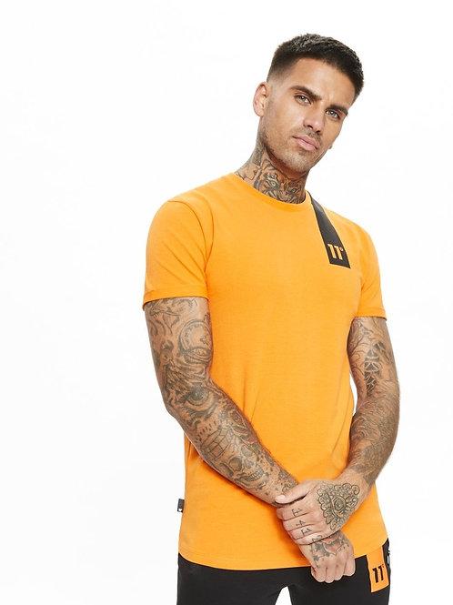 Topaz Muscle Fit T-Shirt - Orange