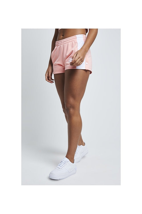 SikSilk Popper Side Shorts – Apricot Blush