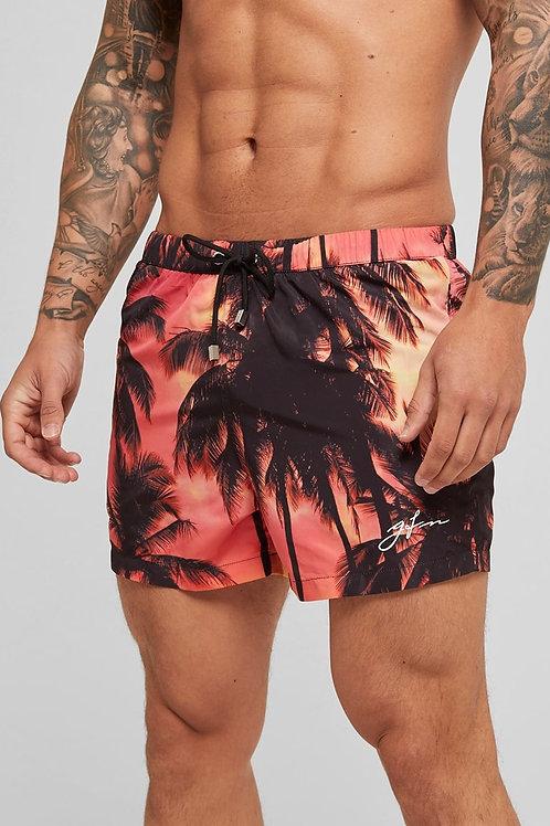 GOOD FOR NOTHING Sunset Swim Shorts