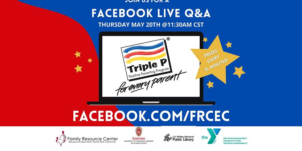 Triple P LIVE -  Q&A
