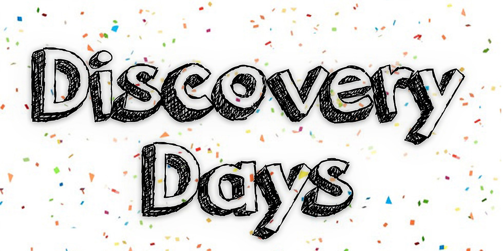 Discovery Days! - August 29th: Let's Get Ready For School!