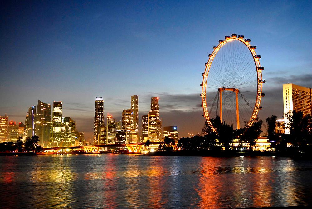 Колесо обозрения Сингапур
