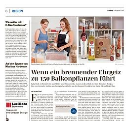 Zeitungsartikel Südostschweiz
