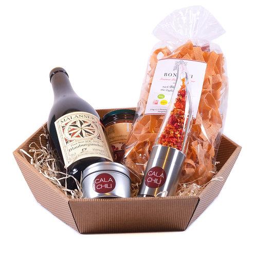 Regionaler Chili-Pasta-Geschenkkorb (WV)