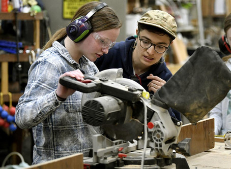 GRIT spring break program helps girls and non-binary youth build confidence and trade skills