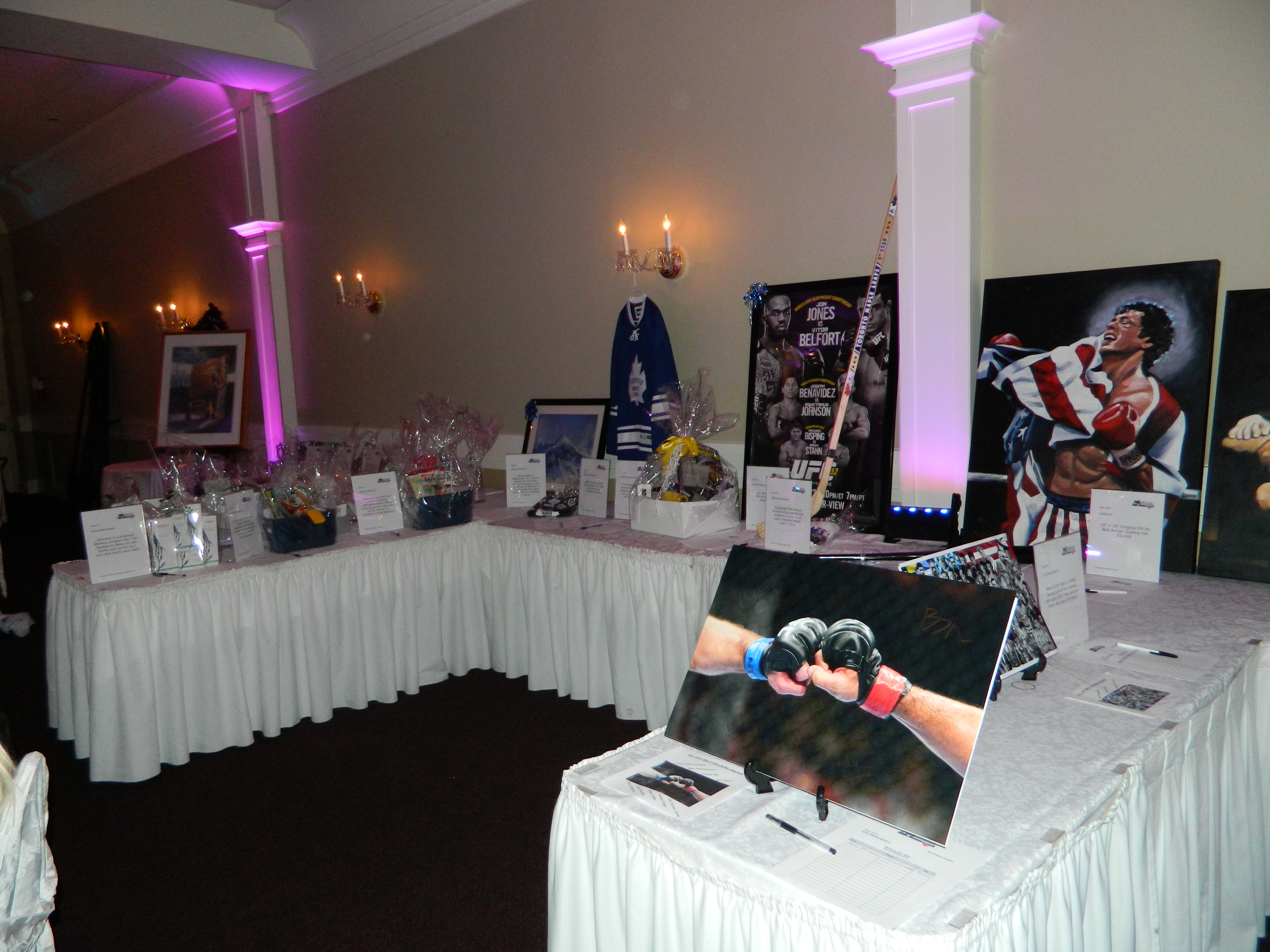Lots & lots of Silent Auction items