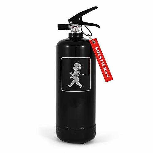 Solstickan fire extinguisher black