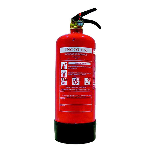 Fire extinguisher 3 kg dry powder