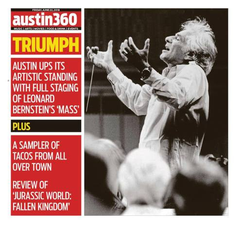 MEDIA:  BERNSTEIN MASS IN AUSTIN 360